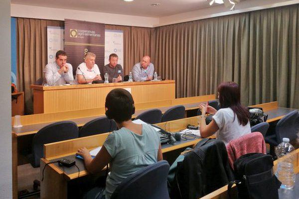 Las organizaciones agrarias aragonesas se unen para luchar contra los precios «precarios» del aceite de oliva