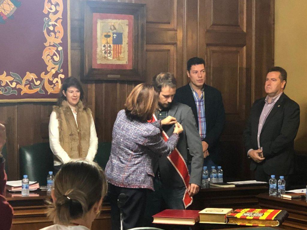 Zésar Corella, nuevo concejal de Teruel por Espacio Municipalista