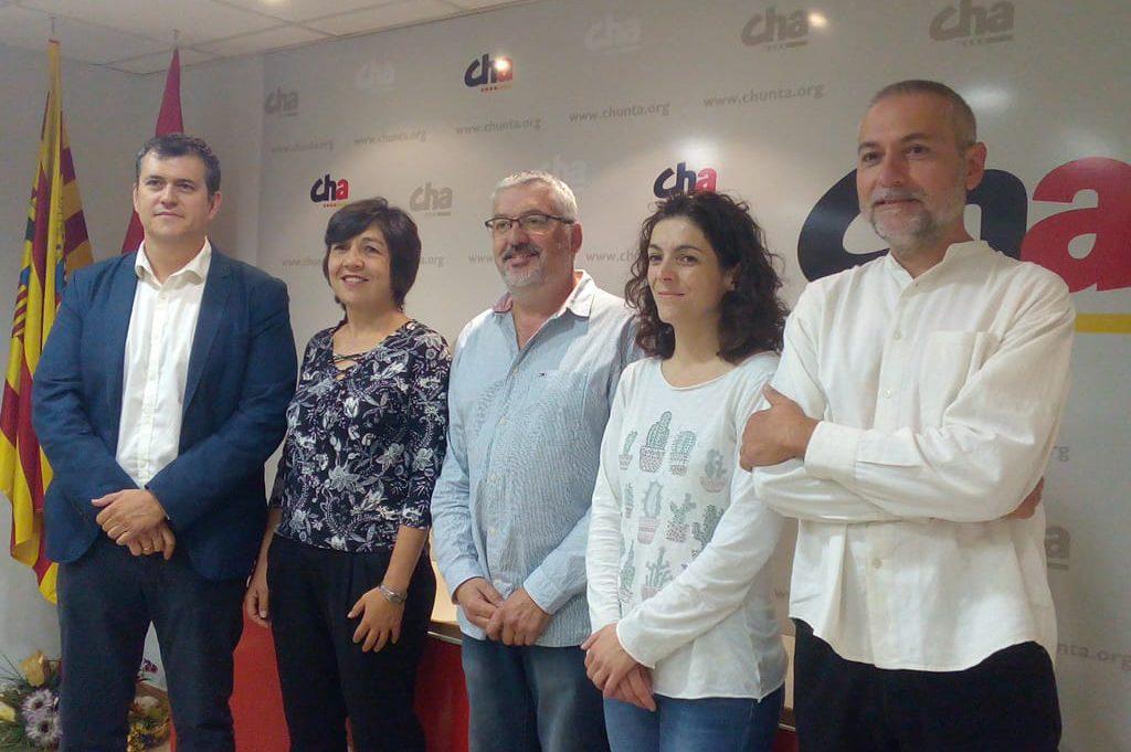 CHA quiere «poner difícil» al PSOE que gobierne «con la derecha» y «facilitar gobiernos de izquierda»