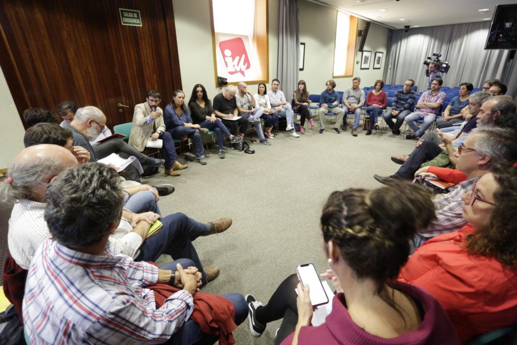 """Las candidaturas municipales en las que está presente IU se reúnen para planificar futuras iniciativas que respondan a los """"problemas reales"""" del territorio"""