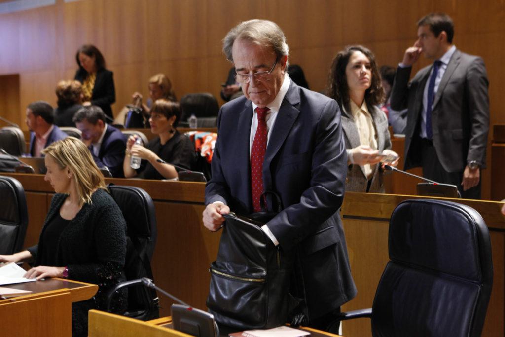 Las Cortes de Aragón aprueban el techo de gasto para 2020 con los votos a favor de PSOE, CHA, Podemos y PAR