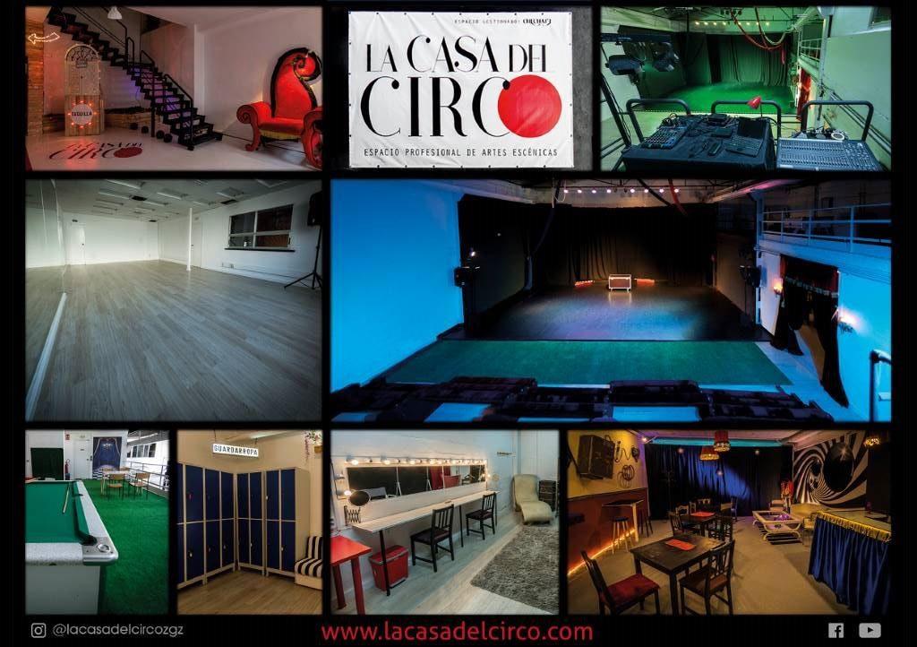 Disciplinas artísticas, circenses y audiovisuales se citan en Pilares en La Casa del Circo
