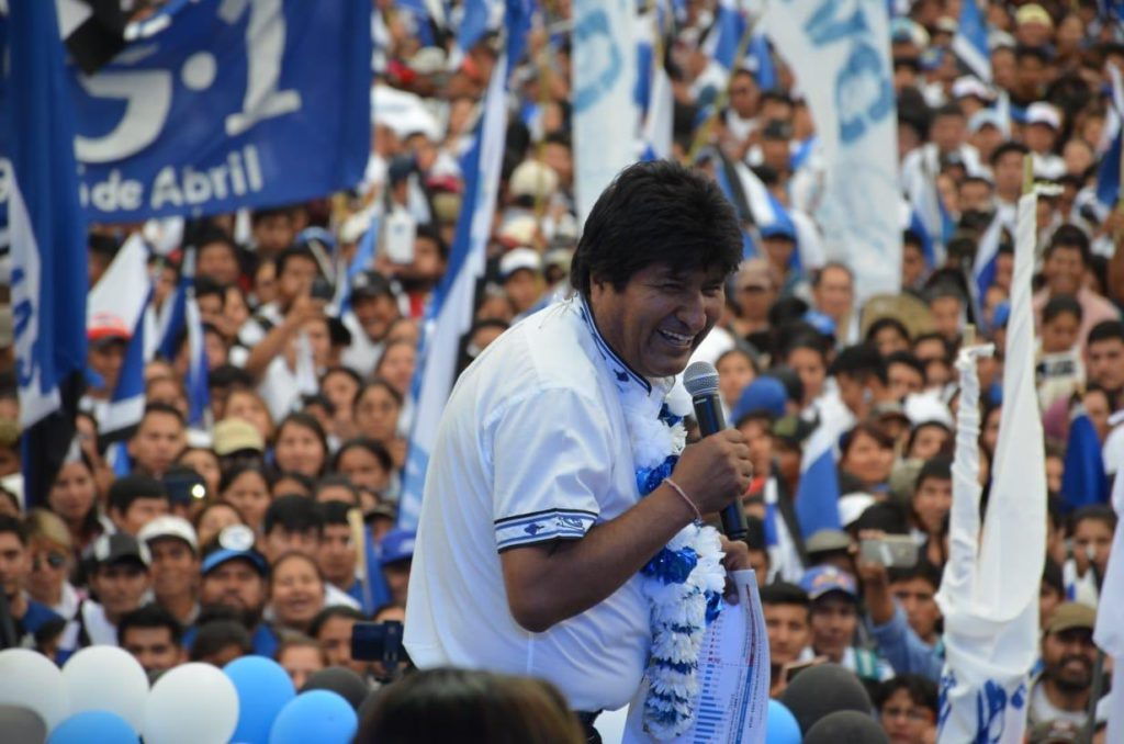 El Tribunal Supremo Electoral ratifica la victoria de Evo Morales en las elecciones celebradas en Bolivia