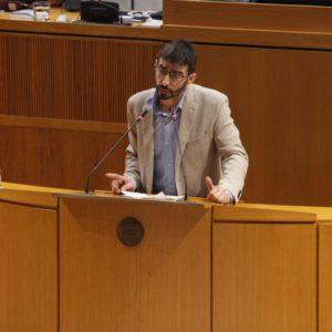 """Izquierda Unida presenta 126 enmiendas a los Presupuestos de Aragón para que """"miren a la izquierda"""""""