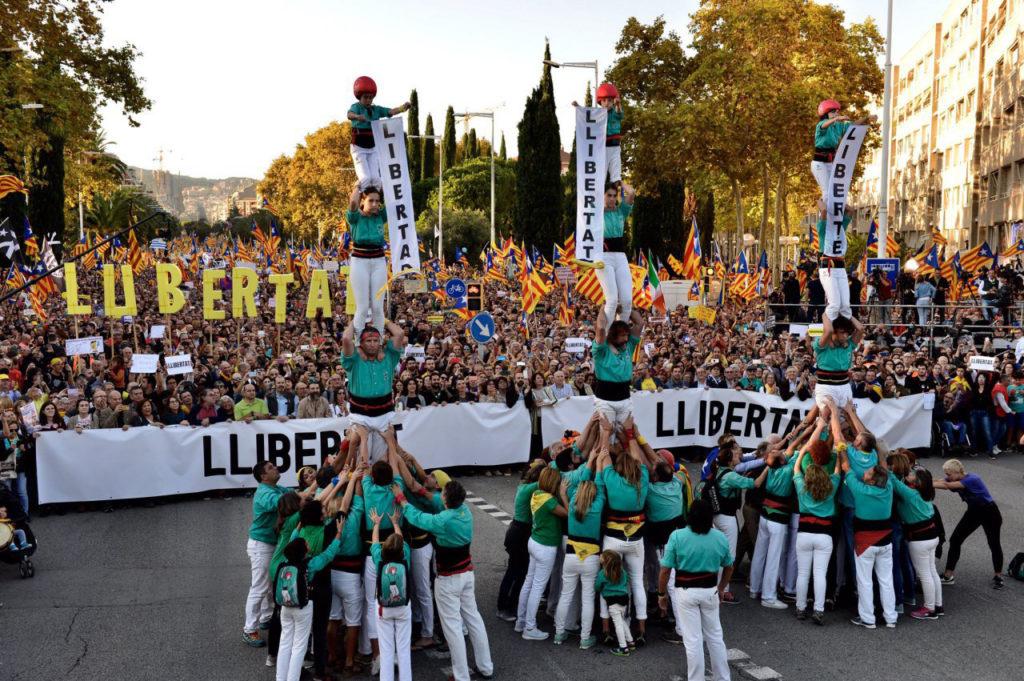 Elisenda Paluzie, presidenta de la ANC: «El independentismo no abandonará su lucha, a más represión más movilización»