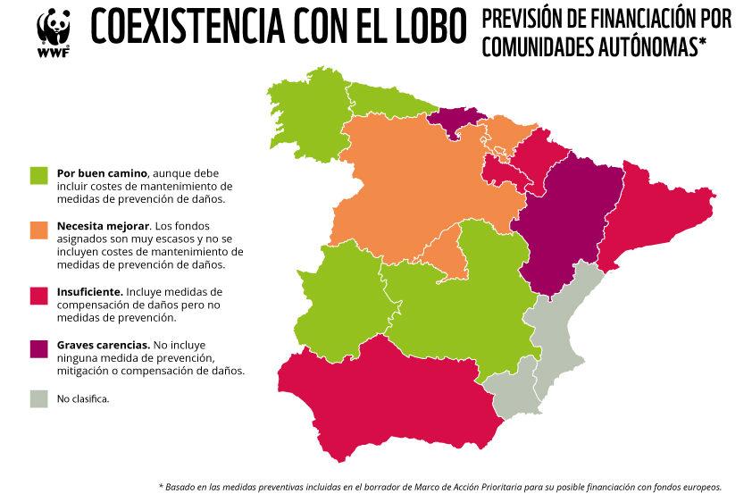 Aragón suspende con «graves carencias» el examen de coexistencia con el lobo y el oso