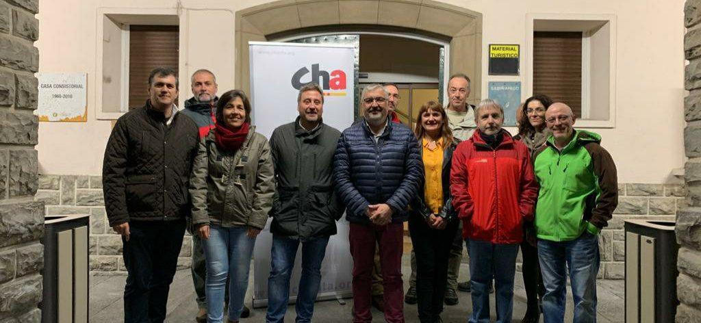 Salvador Ariste considera la transición ecológica una oportunidad para el Alto Aragón