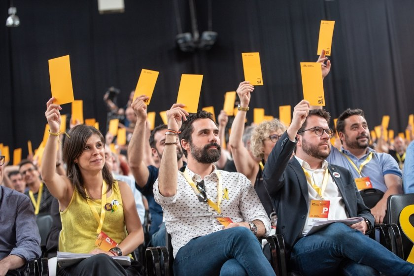 """🔴 ERC mantiene el """"no"""": «No hay indicio alguno de que el PSOE vaya a abandonar la vía represiva en Catalunya»"""