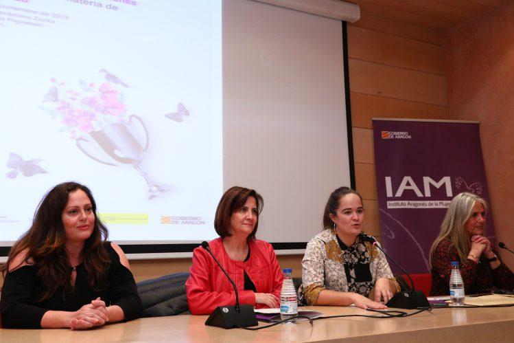 El Instituto Aragonés de la Mujer y la Universidad de Zaragoza firman un convenio para fomentar la igualdad