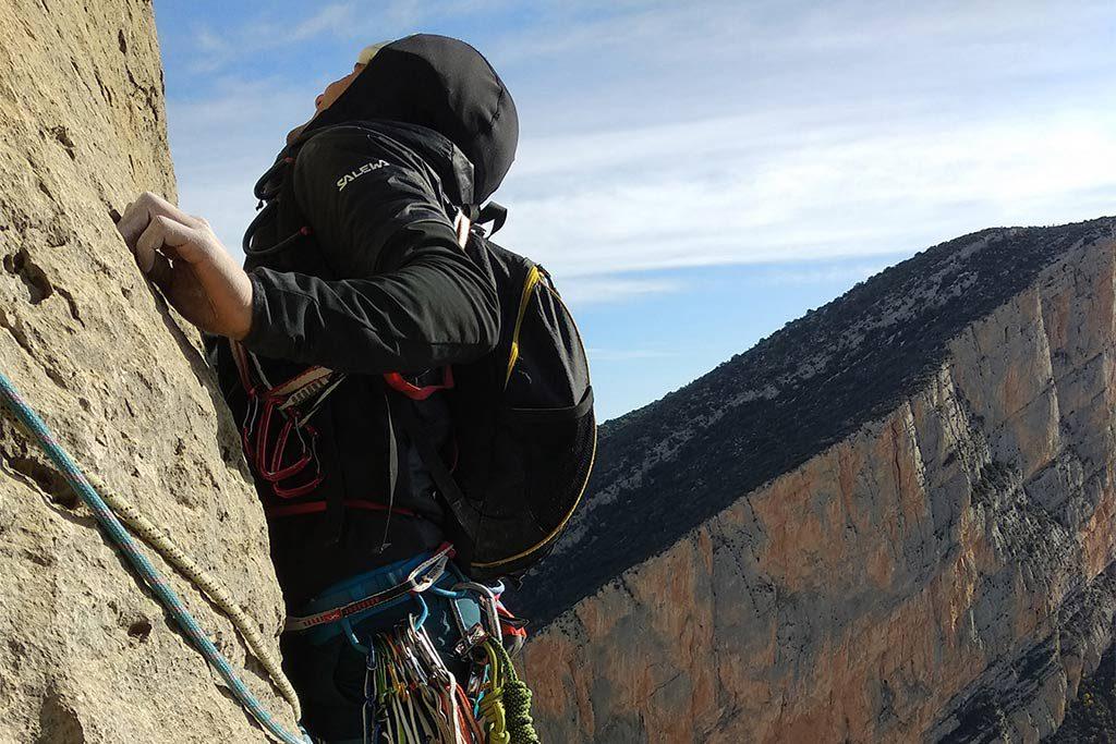 El congosto de Montrebei, escenario del final de la temporada aragonesa de escalada en roca