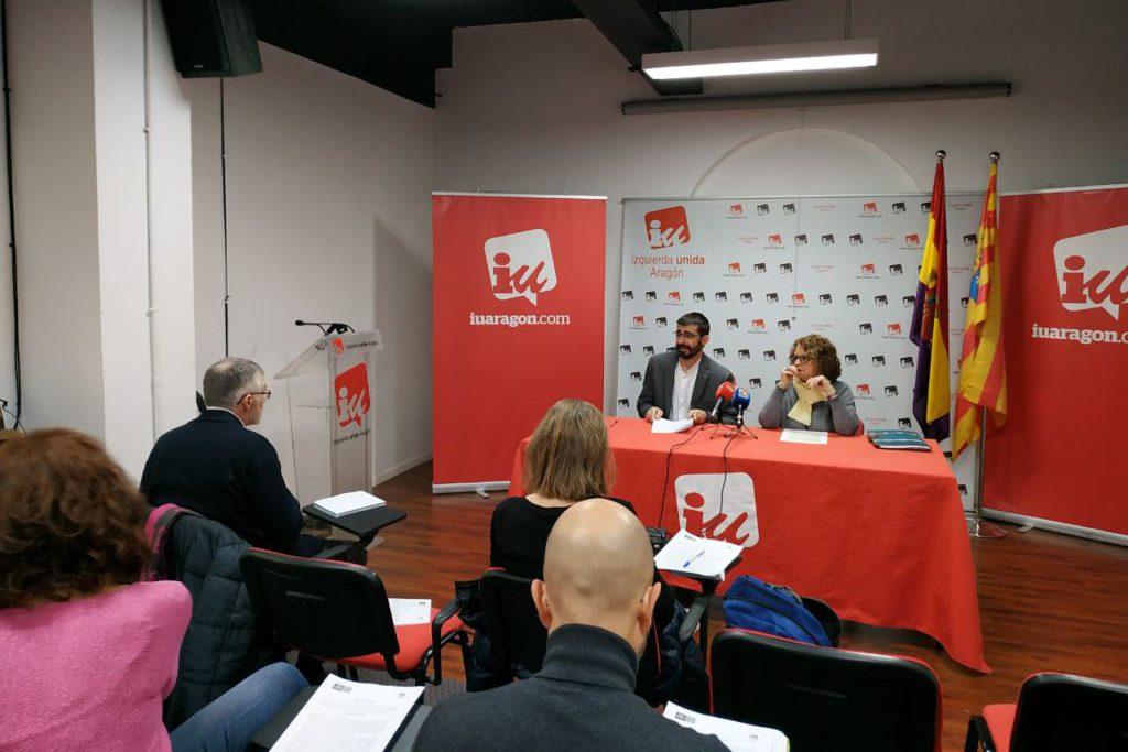 IU urge al Gobierno de Aragón a poner en marcha la Ley de Memoria Democrática