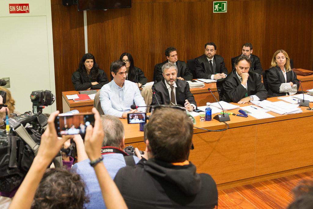 La Audiencia escuchará a las partes antes de resolver el recurso presentado contra la prórroga de prisión de Rodrigo Lanza