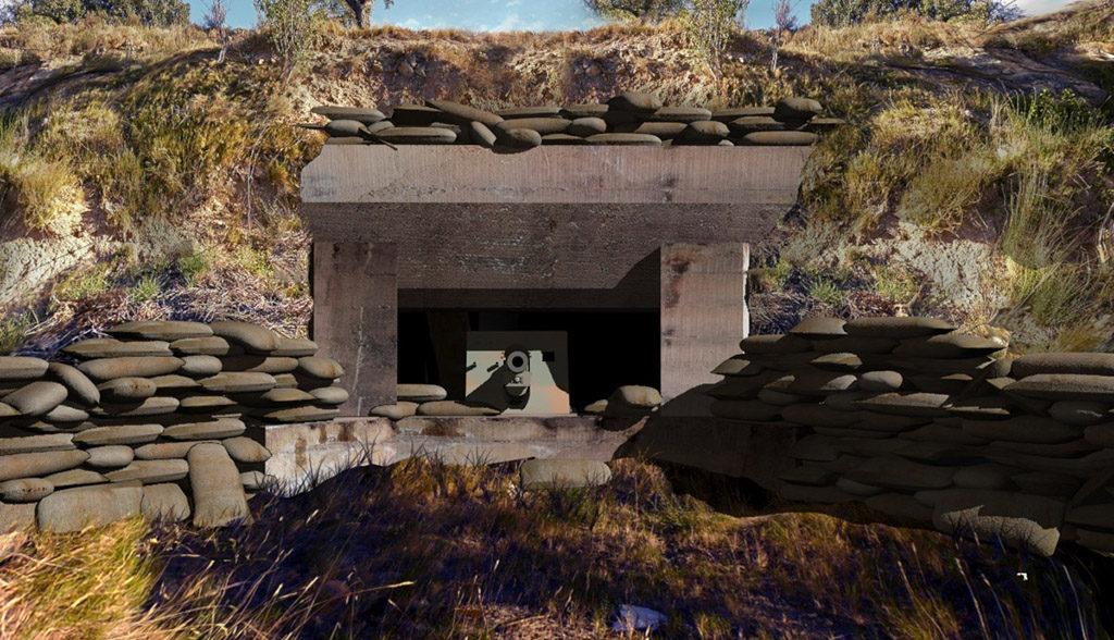 Fonz ofrece un paseo virtual y una nueva visita guiada por el emplazamiento artillero del Ejército republicano