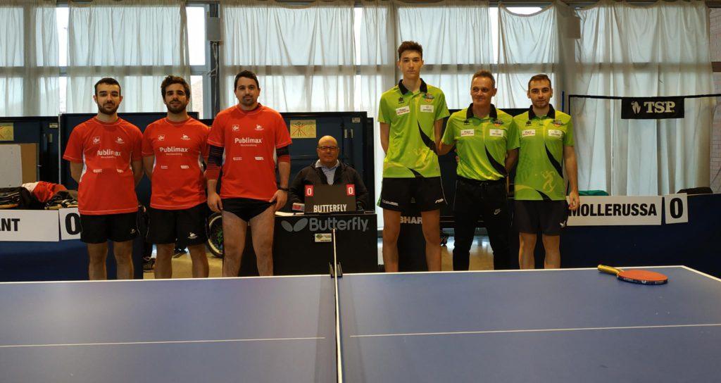 Publimax CAI Santiago sigue invicto en Primera estatal masculina de tenis de mesa
