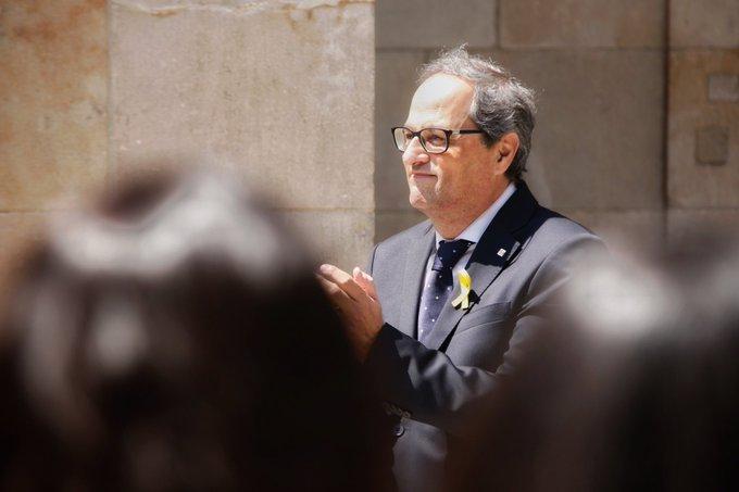 🔴 Torra subraya que sigue siendo president y Torrent convoca pleno del Parlament este sábado