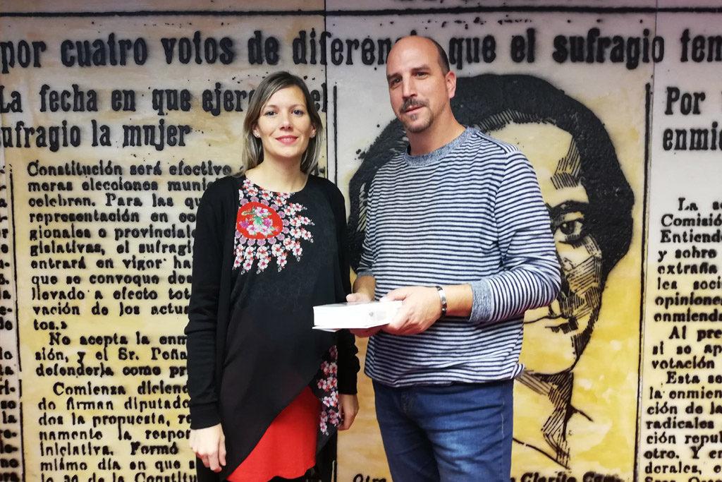 Los dos senadores de Teruel Existe entregan sus credenciales y afirman que buscarán «el consenso para mejorar el equilibrio del país»