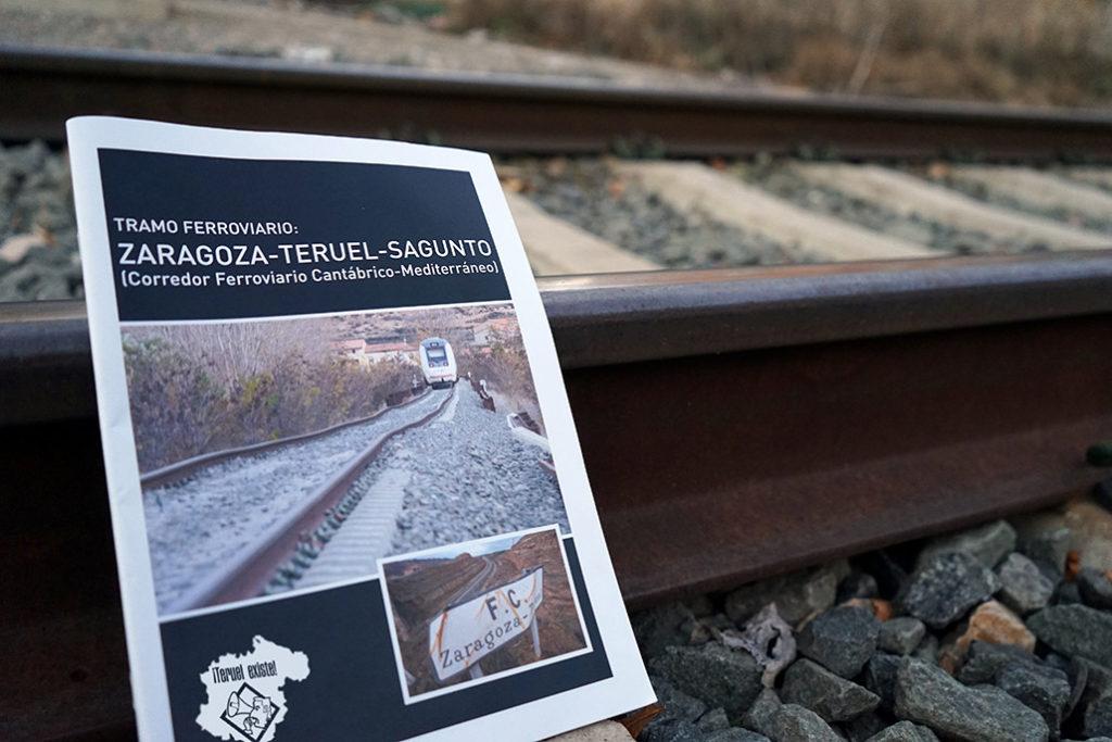 Teruel Existe denuncia el «gran engaño» del Corredor Cantábrico-Mediterráneo