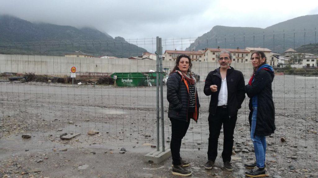 Unidas Podemos reclama en Yesa criterios de sostenibilidad social, ecológica y económica para las obras públicas
