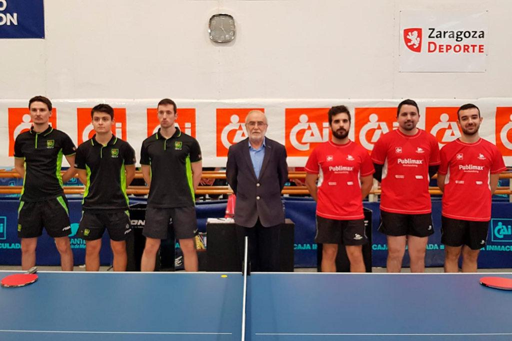 Fin de semana de victorias en el tenis de mesa aragonés