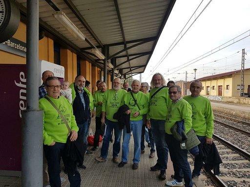 Cambiar Monzón reivindica el mantenimiento de la taquilla y servicios de la estación Monzón-Río Cinca