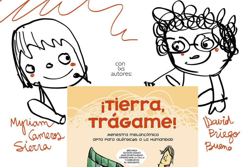 """La Pantera Rossa acoge la presentación del libro """"¡Tierra, trágame!"""""""