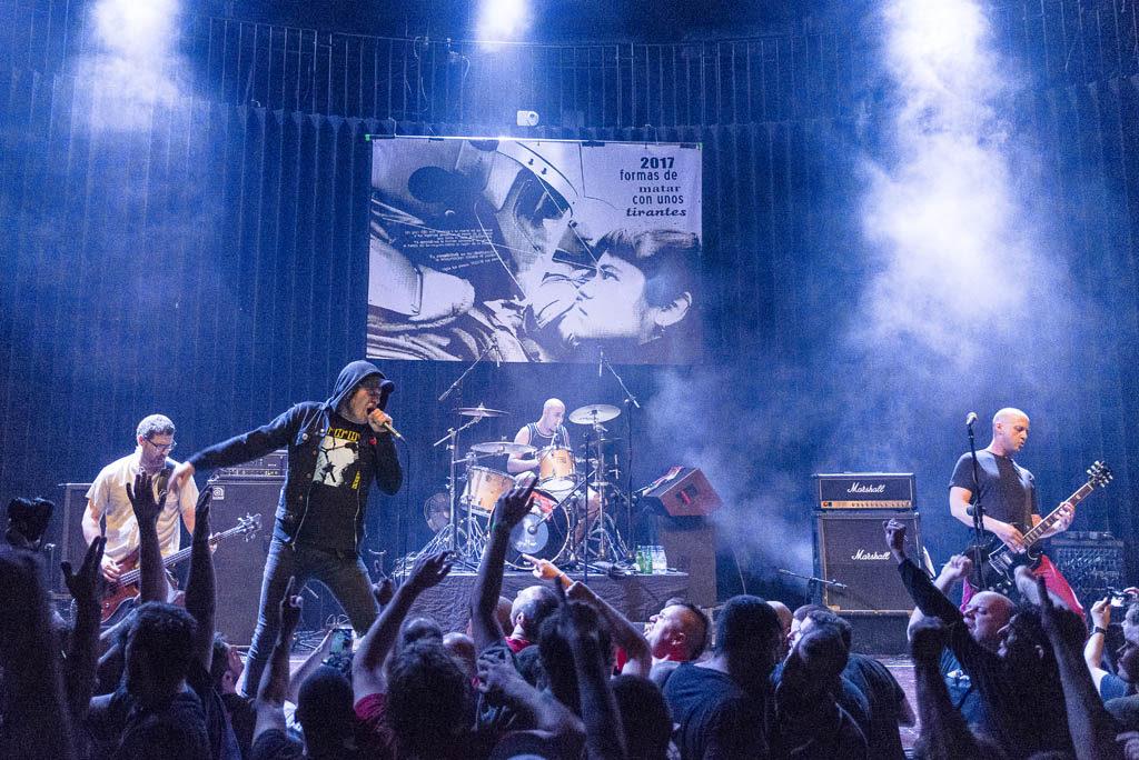 El Corazón del Sapo y KOP repetirán el concierto antifascista el 23F