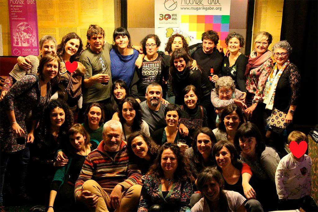 María Viadero (Mugarik Gabe): «El sexismo de nuestros entornos se da también en nuestras organizaciones»