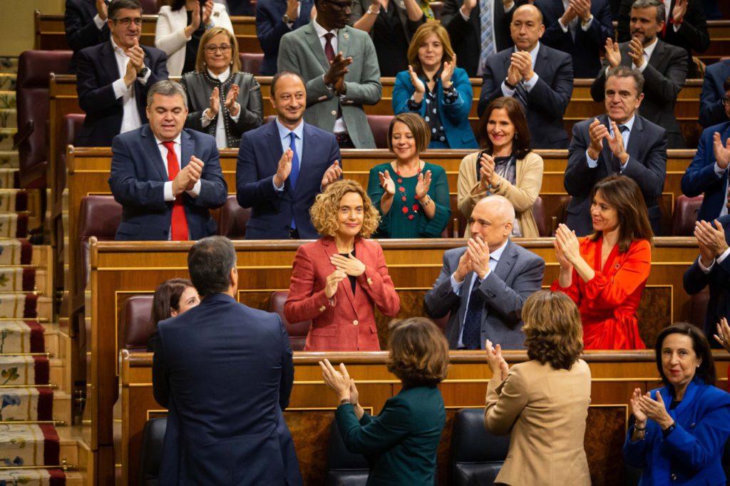 Batet y Llop (PSOE) elegidas presidentas del Congreso y del Senado y la ultraderecha se cuela en la Mesa