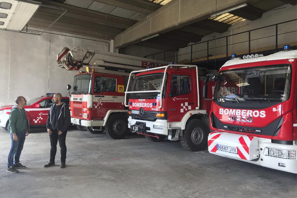 Ganar Teruel – IU incluye una modificación presupuestaria para que el Ayuntamiento «cumpla sus obligaciones con el servicio de bomberos»