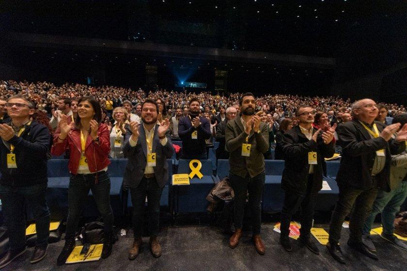 ERC exige en su Congreso «abrir una nueva etapa política que venza a la represión»