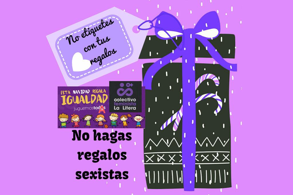 El Colectivo Feminista de la Llitera impulsa la campaña «Esta Navidad regala igualdad»