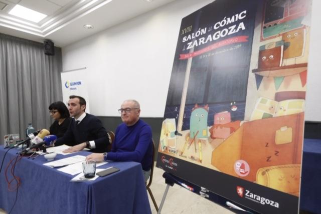 El Salón del Cómic convierte a Zaragoza en el epicentro de la ilustración con sátira y humor