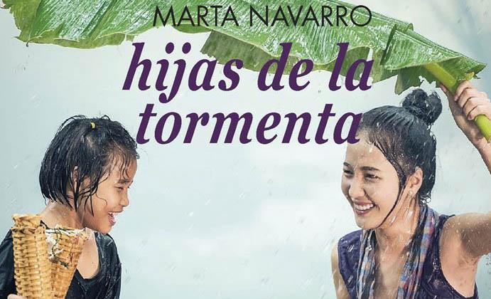 Marta Navarro presenta en La Pantera Rossa su libro «Hijas de la Tormenta»