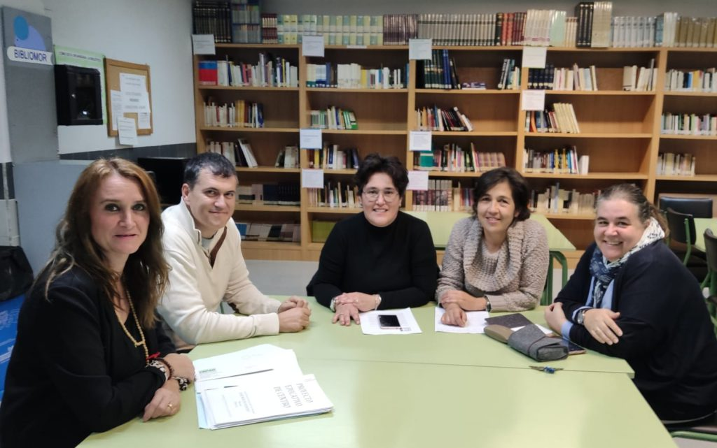 "Joaquín Palacín se reúne con la ""Plataforma por un Segundo Instituto Público en Monzón"""