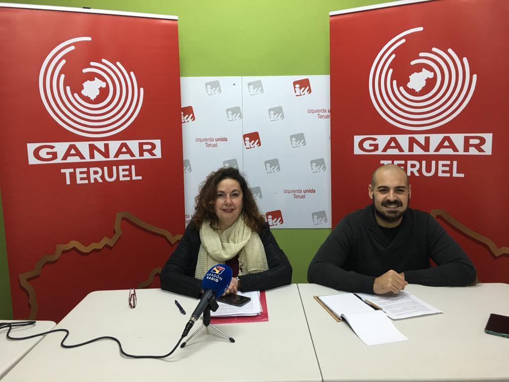 Ganar Teruel tacha de insuficientes, irreales e inoperantes los presupuestos de Teruel