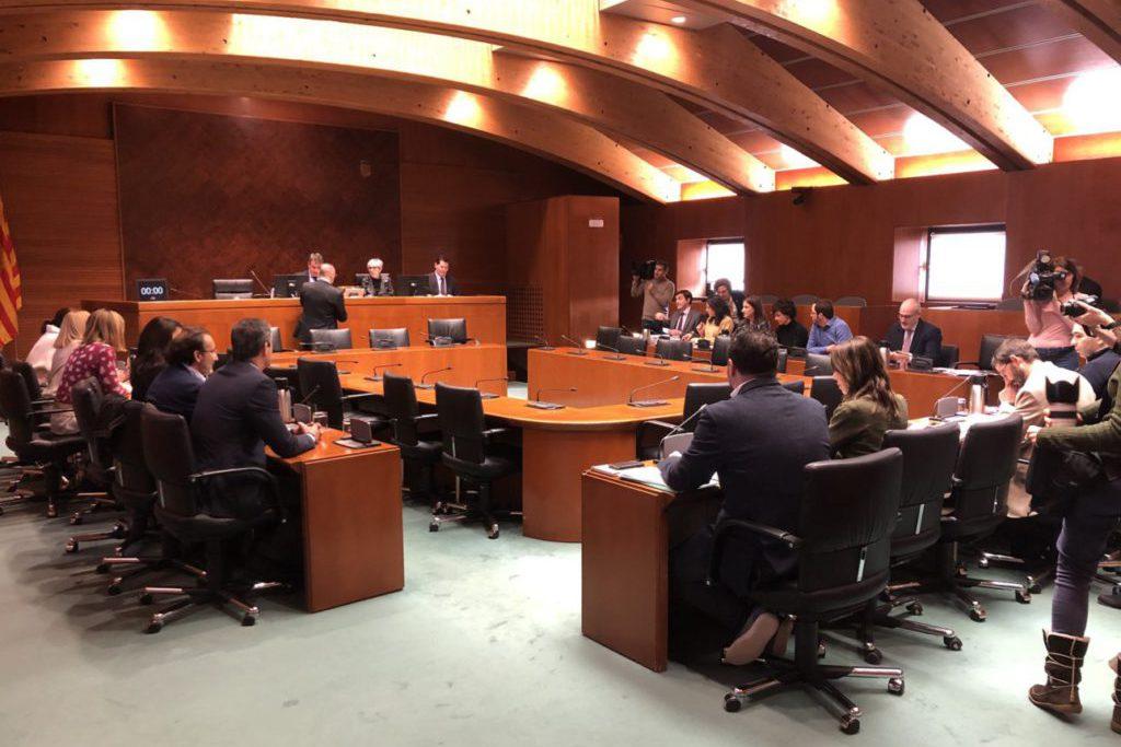 El proyecto de ley de Presupuestos de Aragón para 2020 continúa el proceso de tramitación con la aprobación de 106 enmiendas