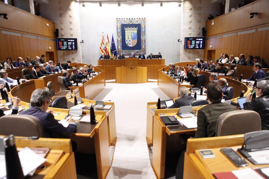 Las Cortes de Aragón aprueban los presupuestos para 2020 que ascienden a 6.466 millones de euros
