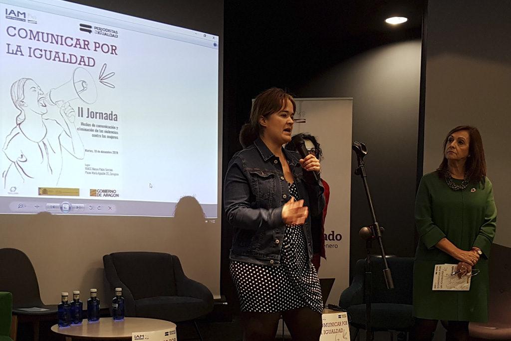 """María Goikoetxea, directora del IAM: """"El lenguaje nunca es inocente y no cabe la neutralidad"""""""