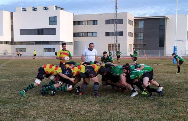 El Club de Rugby Teruel apela a la épica venciendo en el último minuto al hasta entonces imbatido Castellón