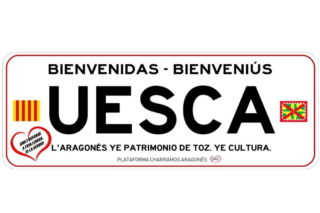 La plataforma Charramos lanza un crowdfunding para dar visibilidad al aragonés y «combatir la irresponsabilidad lingüística» del Ayuntamiento de Uesca