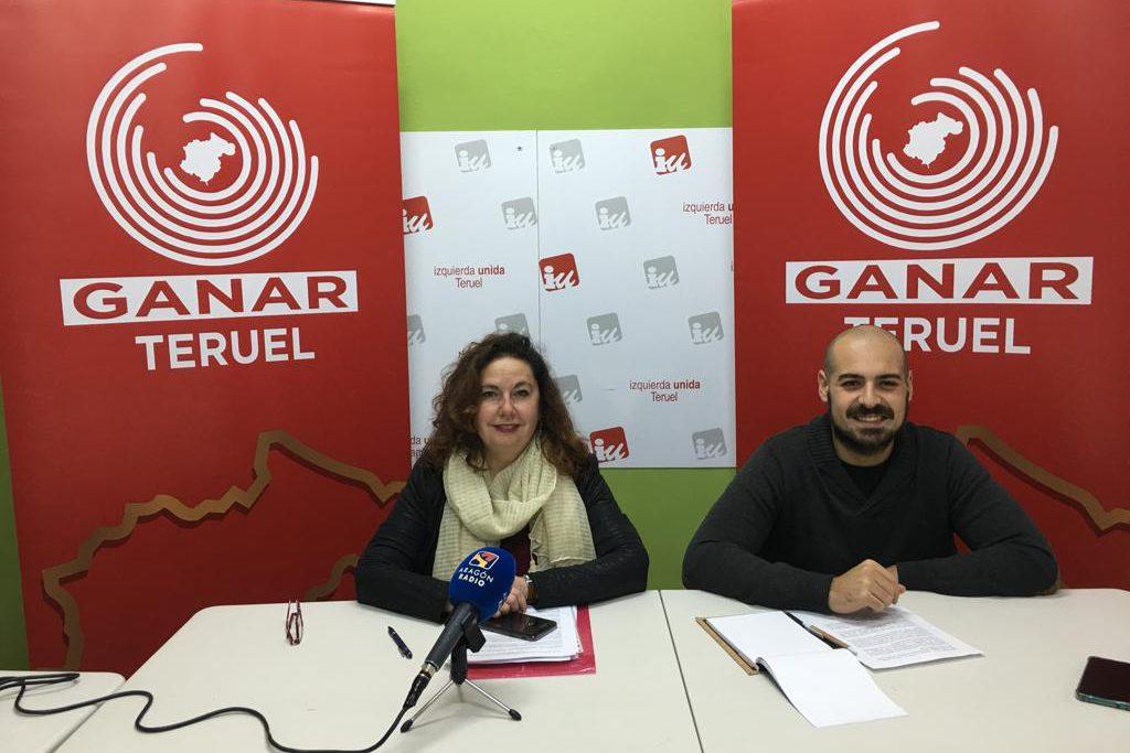 Ganar-IU piden al Ayuntamiento que defienda a Teruel de los llamamientos al Boicot