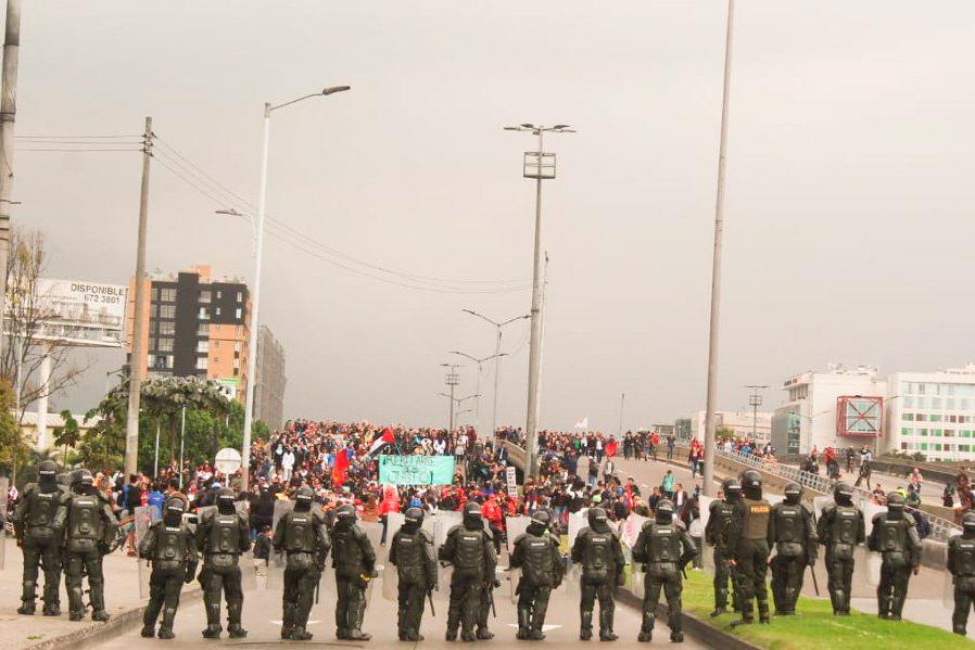 Colombia 2020: organizando la protesta social frente a la agenda de represión y sumisión imperial