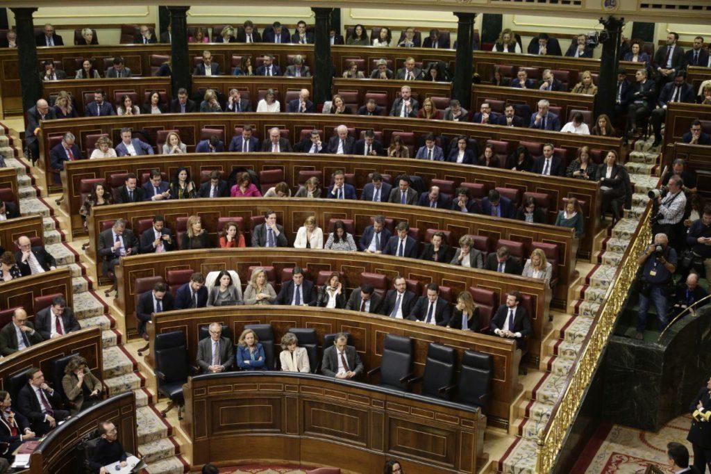 La votación definitiva de la investidura de Sánchez manchada por las amenazas e intimidaciones de la ultraderecha