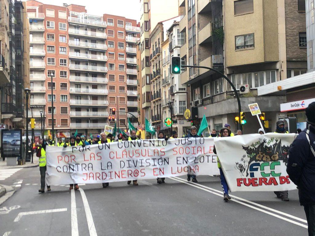Indignación en la plantilla de parques por la actitud de FCC y Chueca:«Lejos de solucionar el conflicto, distancian a las partes aún más»