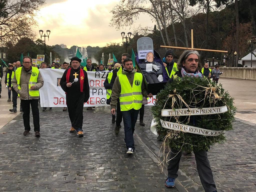 El comité de huelga acudirá al SAMA con intención de llegar a un acuerdo