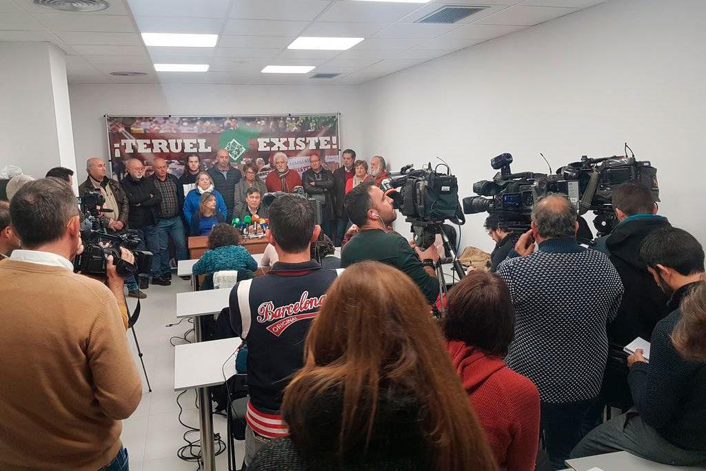 El Ayuntamiento de Teruel aprueba con unanimidad rechazar los ataques contra Teruel Existe