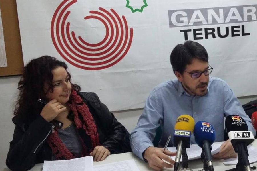 Ganar Teruel lleva a Diputación y Ayuntamiento la Igualdad de trato entre las parejas de hecho y las casadas en la pensión de viudedad