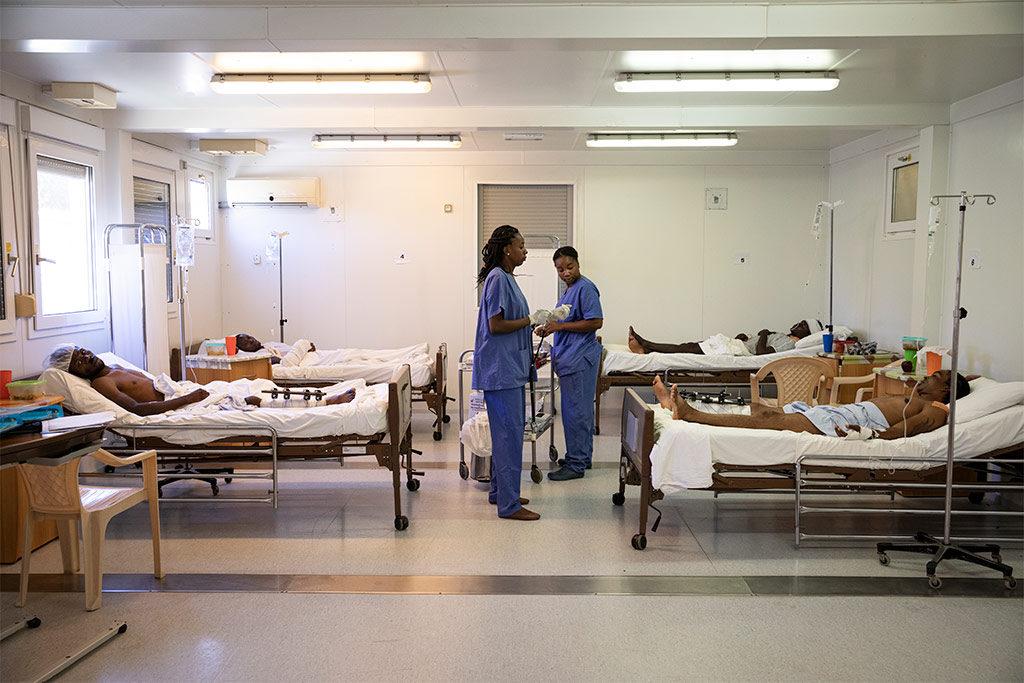 El sistema de salud de Haití al borde del colapso 10 años después del terremoto