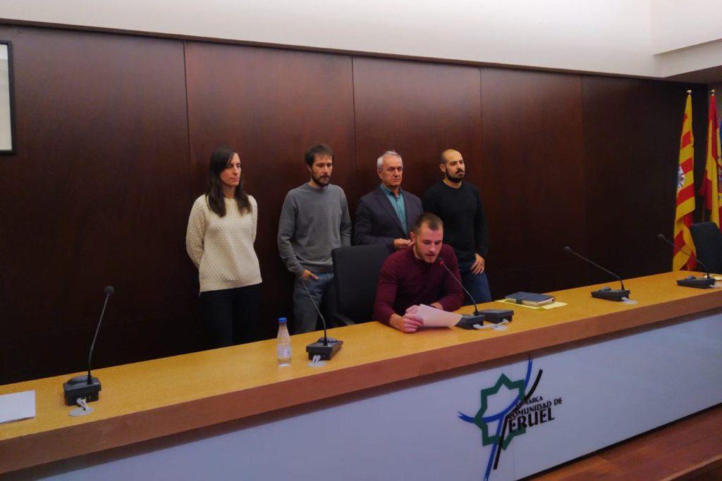 Diferentes organizaciones «democráticas» de Teruel condenan «las presiones y amenazas ejercidas por los partidos de la derecha y ultraderecha»