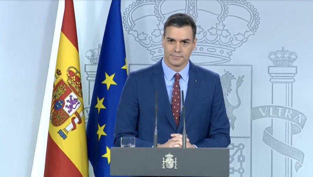 Sánchez garantiza el «firme propósito de unidad» del Gobierno de coalición